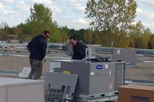 Commercial Rooftop Furnace Sales Installation Twin Cities