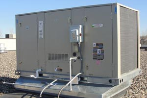 Lennox Commercial Rooftop HVAC Installation